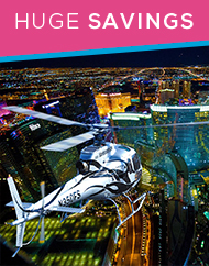 Las Vegas Night Flight Strip Helicopter Tour