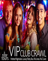 World Famous VIP Club Crawl Experience Las Vegas