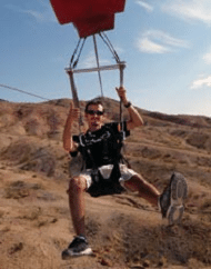 Zipline Tour Experience Over Bootleg Canyon