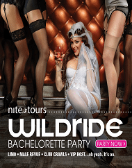 Wild Ride Ultimate Bachelorette Nightlife Experience