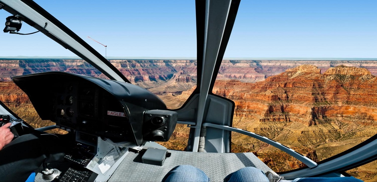 Grand Canyon South Rim Tour Helicopter Ride