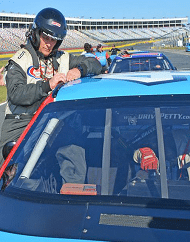 Richard Petty Ride-Along Tour Las Vegas Motor Speedway