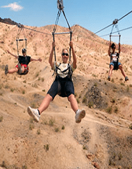 Flightlinez Zipline Tour Experience Over Bootleg Canyon