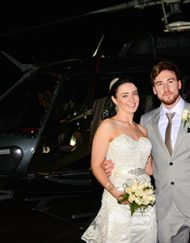 Las Vegas Strip Helicopter Wedding Package