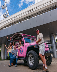 Sights Sounds City Tour Pink Jeep Las Vegas
