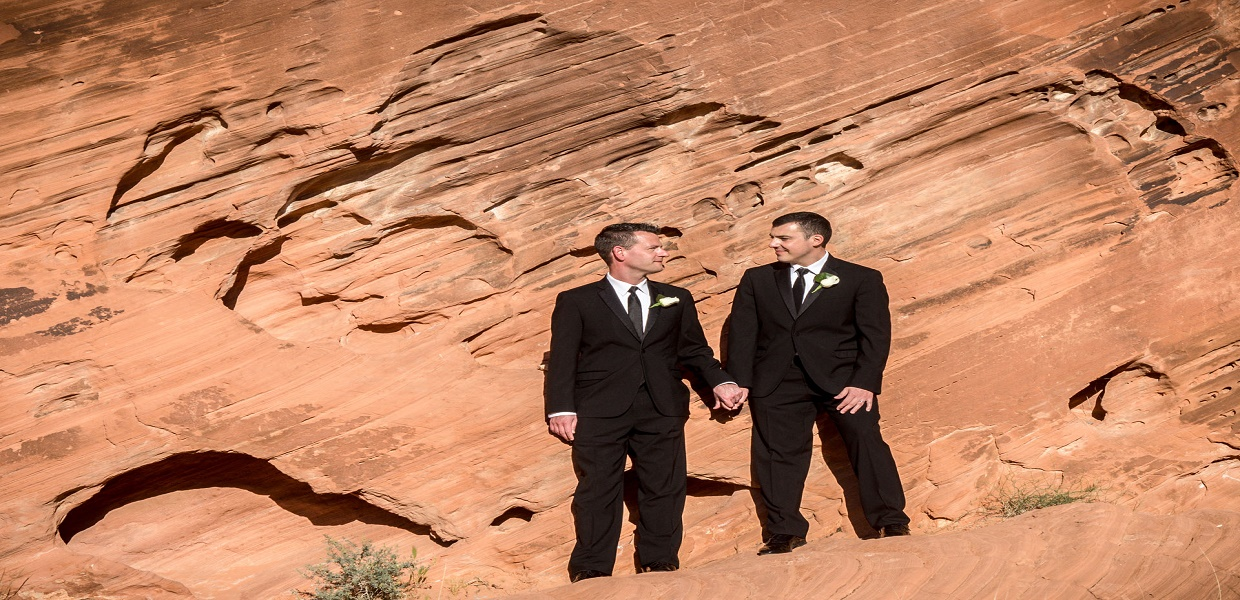 Valley of Fire Commitment Ceremony or Wedding Ceremony