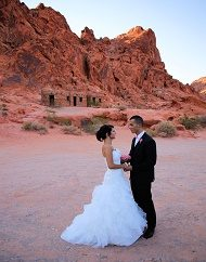 VALLEY OF FIRE WEDDING CEREMONY OR VOW RENEWAL PACKAGES