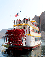 Lake Mead Dinner Cruise Aboard Desert Princess Paddle Boat