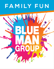 Blue Man Group Las Vegas Discount Show Tickets
