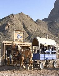 Grand Canyon Western Experience Wagon Ride