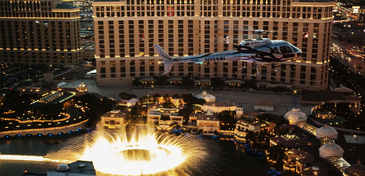 The Tour Exchange 5 Star Helicopter Night Flight