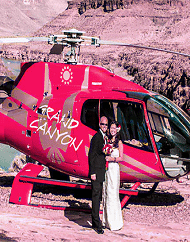 Two of A Kind Grand Canyon Helicopter Wedding Package