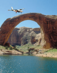 Lake Powell Rainbow Bridge Scenic Air Only Adventure Tour