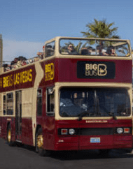 Big Bus Tours Las Vegas Strip Hop On Hop Off Transportation