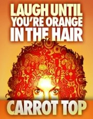 Carrot Top Tickets Atrium Showroom Luxor Las Vegas