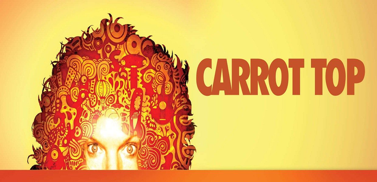 The Tour Exchange Carrot Top Tickets Atrium Showroom