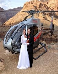 Desert Dreams Grand Canyon Helicopter Wedding