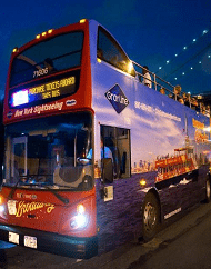 Panoramic Double Decker Sightseeing Night Tour - New York City