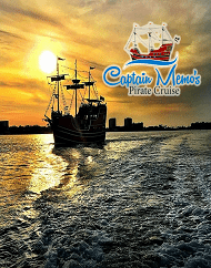 Captain Memo's Private Cruise Plus Lunch at Clearwater