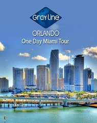One-Day Miami Tour From Orlando Plus Optional Upgrade