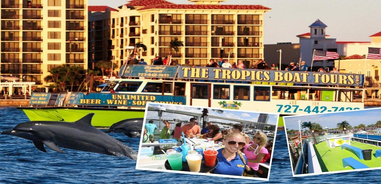 The Tour Exchange Dolphin Encounter Boat Ride Clearwater