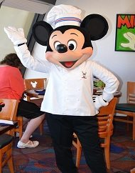 VIP Limousine and Chef Mickey Dinner Package