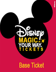 Walt Disney World Park Magic Your Way Base Ticket Packages