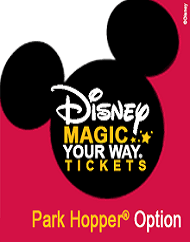 Walt Disney World Park Magic Your Way Park Hopper Ticket