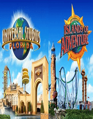 Universal Orlando 3 Park Base Ticket Packages