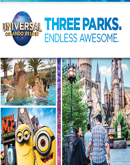 Universal Orlando Resort Park to Park Plus Volcano Bay Tickets