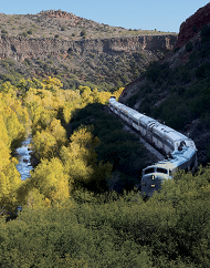 Verde Canyon Railroad Plus Copper Museum Tour