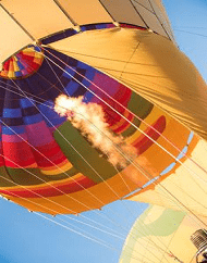 Sunset Hot Air Expedition Balloon Rides Phoenix Arizona
