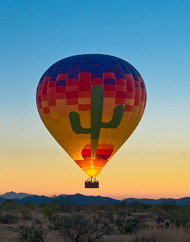 Seasonal Sunset Hot Air Expeditions Balloon Ride Phoenix