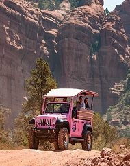 Pink Jeep Sedona Ancient Ruin Tour