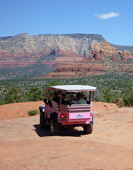 Pink Jeep Sedona Broken Arrow Trail Tour