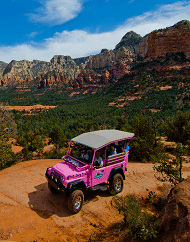 Pink Jeep Sedona Broken Arrow Trail Tours