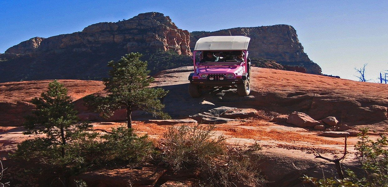 The Tour Exchange Pink Jeep Sedona Broken Arrow Trail Tour