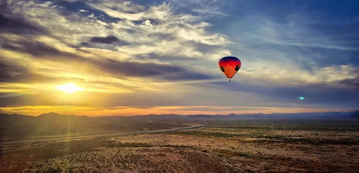 The Tour Exchange Sunset Hot Air Balloon Expedition Phoenix Arizona