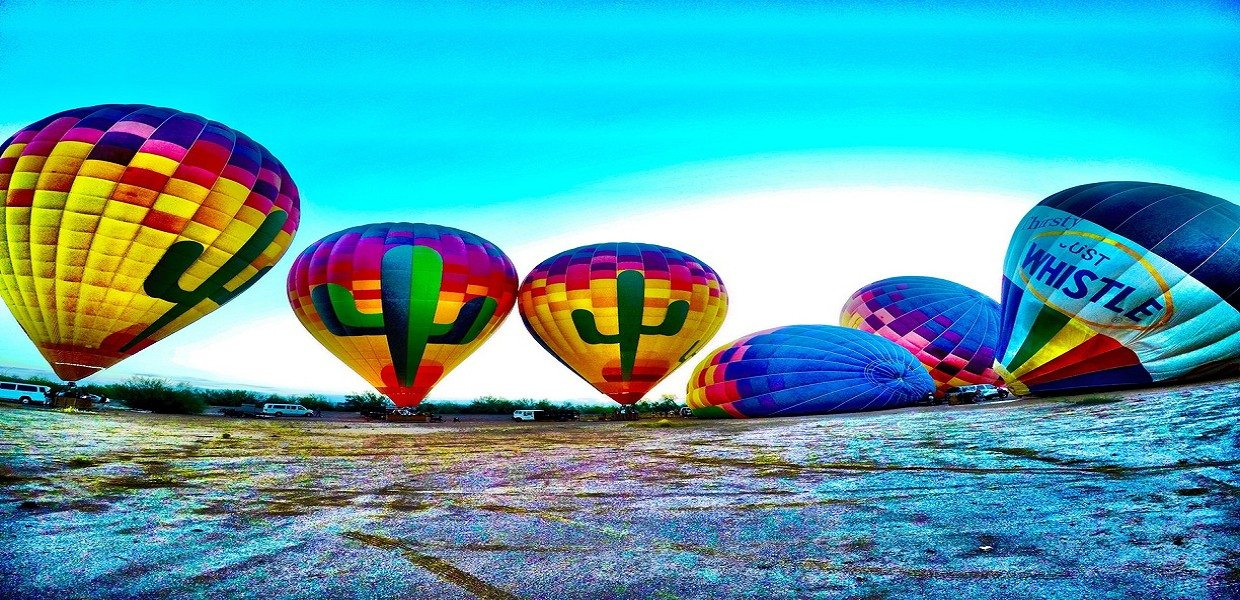The Tour Exchange Sunset Hot Air Balloon Rides Phoenix Arizona