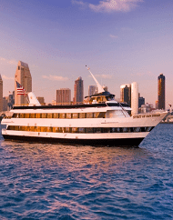 Flagship Cruises San Diego Bay Full Harbor Cruise Package