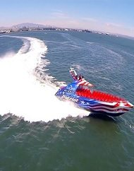 Flagship Cruises San Diego Patriot Jet Boat Thrill Ride
