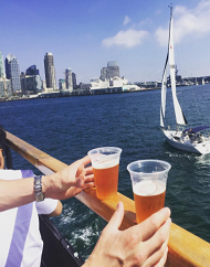 Flagship San Diego Hops on The Harbor Cruise Package