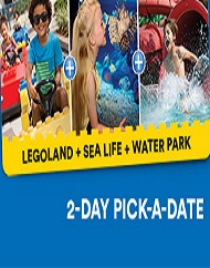 Legoland California Resort Hopper Tickets Plus 2nd Day FREE