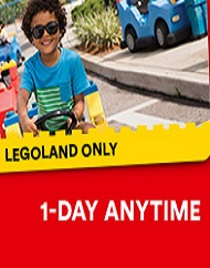 Legoland California Resort Single Day Admission Tickets